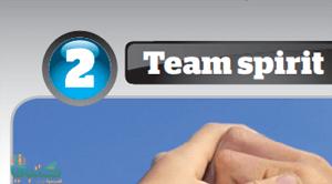U2 Team spirit